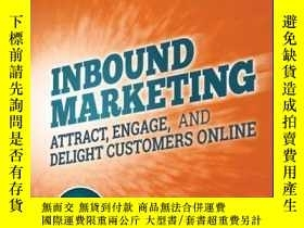 二手書博民逛書店Inbound罕見Marketing, Revised and Updated: Attract, Engage,