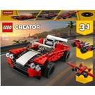 LEGO 樂高 CREATER 創意系列 3-in-1 Sports Car 跑車 31100