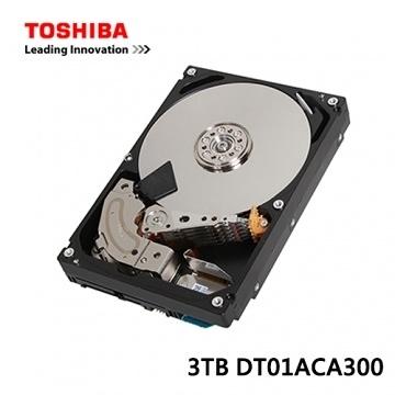 Toshiba 3TB 3.5吋 內接式 硬碟 (DT01ACA300)