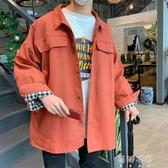 外套外套男士韓版潮流春季ins潮牌工裝夾克帥氣學生棒球服ulzzang褂子