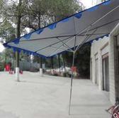 商鋪店面斜傘遮陽傘鍍鋅鋼管長方形大傘3x4方形斜坡傘戶外擺攤傘igo 西城故事