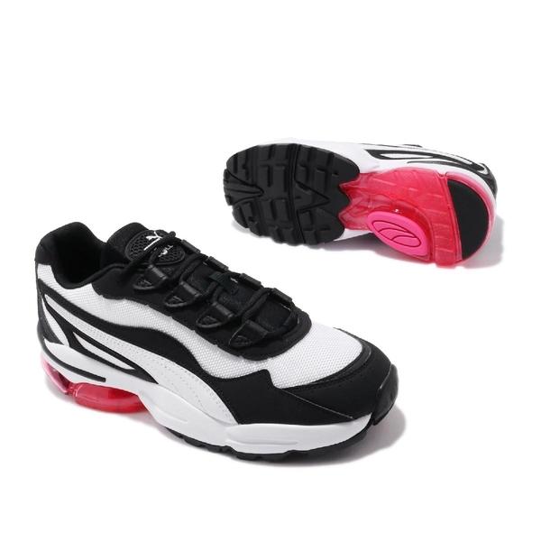 【四折特賣】Puma 慢跑鞋 Cell Stellar Wns 白 黑 麂皮 復古 氣墊設計 女鞋 運動鞋 Dad Shoes【ACS】 37095003