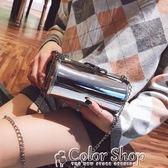 包包女新款潮韓版迷你鍊條小方包百搭斜背單肩包上新color shop