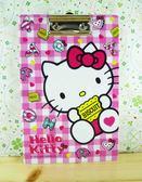 【震撼精品百貨】Hello Kitty 凱蒂貓~A5夾板-粉甜點