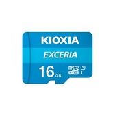 KIOXIA (原TOSHIBA) EXCERIA 16G Micro-SDHC UHS-I U1 C10 R100 記憶卡 [富廉網]