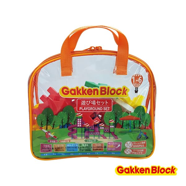 Gakken學研益智積木 - 遊樂場組合