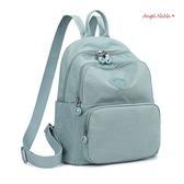 全館滿399超商免運費~後背包。超輕量極簡防潑水尼龍雙肩包(中) (SBA0363) AngelNaNa
