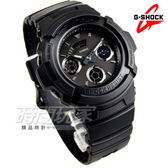 G-SHOCK AW-591BB-1A 潮流專屬黑色控 日線全黑 休閒 男錶 AW-591BB-1ADR CASIO卡西歐 電子運動錶雙顯示