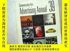 二手書博民逛書店COMMUNICATION罕見ARTS ADVERTISING ANNUAL 39 1998 DECEMBER 傳