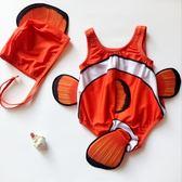 嬰兒連體泳衣男女寶寶泳衣0-1-2-3歲小童防曬泳裝游泳館兒童泳衣❥全館1元88折鉅惠
