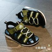快速出貨-兒童涼鞋男童涼鞋新品夏季正韓中大童防滑軟底男孩學生兒童寶寶沙灘鞋