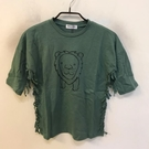 韓版修身基本款童裝短袖T恤(100-120碼/ 555-308)