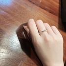 編織麻花開口戒指時尚