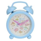 小禮堂 角落生物 塑膠圓形復古鬧鐘 指針時鐘 桌鐘  時鐘 (藍 睡衣) 4548626-12865