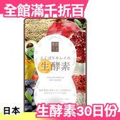 日本 生酵素 乳酸菌 60粒 (30日份) 女生 上班族 2018亞馬遜熱銷第一【小福部屋】