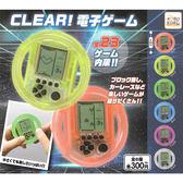 隨機2款一組【日本正版】方向盤造型 遊戲機 Clear 扭蛋 轉蛋 迷你遊戲機 - 206503