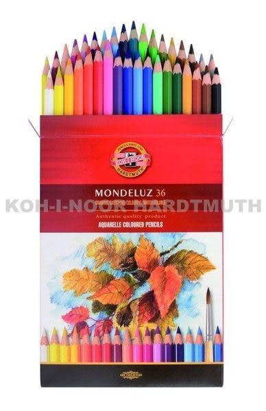 捷克製KOH-I-NOR 36C水性色鉛筆(不含水彩筆)