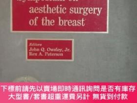 二手書博民逛書店symposium罕見on aesthetic surgery of the breastY422209 約翰