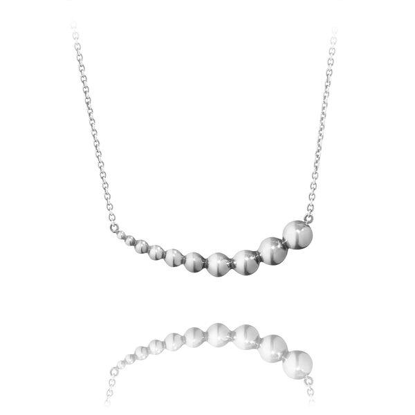 Georg Jensen Jewellery Moonlight Grapes 551B 葡萄藤系列 層次吊墜 純銀項鍊『加贈 拭銀布兩份』