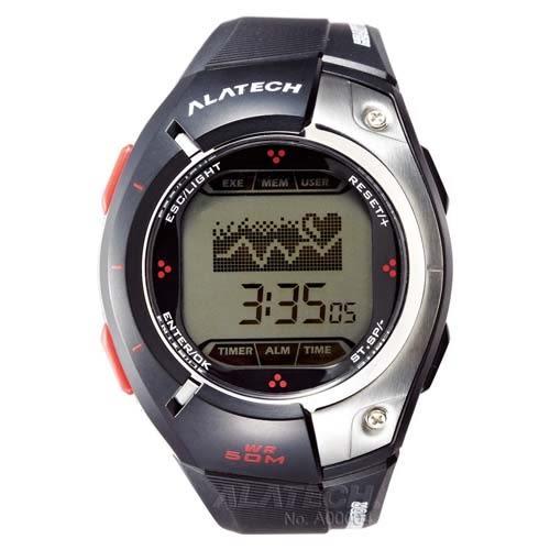 ALATECH FB004 專業健身 心率錶 -- 黑色