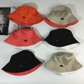 雙面漁夫帽子男女春夏戶外休閒可折疊盆帽正韓潮遮陽帽 星期八