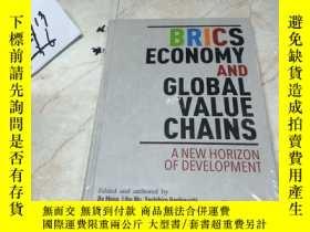 二手書博民逛書店BRICS罕見ECONOMY AND GLOBAL VALUE CHAINS 英文原版Y182979 出