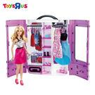 玩具反斗城 芭比閃亮造型衣櫃組