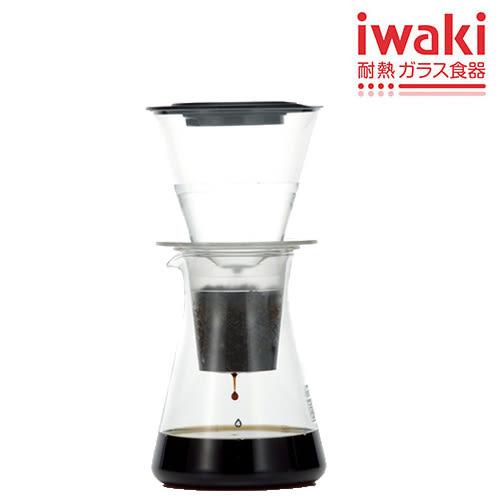 iwaki 耐熱玻璃冰滴咖啡壺440ml