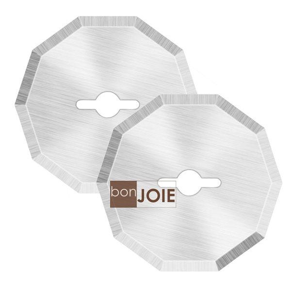 ::bonJOIE:: 美國進口 充電式 電動裁紙機 替換刀片 (一組二入) 裁紙箱 紙盒 紙板 塑膠 裁紙器 裁紙刀