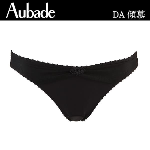Aubade-傾慕S-L蕾絲短襯衣(黑)DA