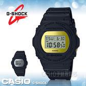 CASIO 卡西歐 手錶專賣店 國隆 G-SHOCK DW-5700BBMB-1 復刻經典電子男錶 樹脂錶帶 金色錶面 防水200米