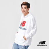 【New Balance】連帽長袖上衣_AMT91547WT_男性_白色