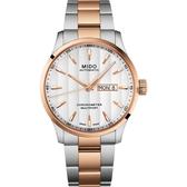 MIDO 美度 Multifort 先鋒系列80小時天文台矽游絲機械錶-42mm M0384312203100