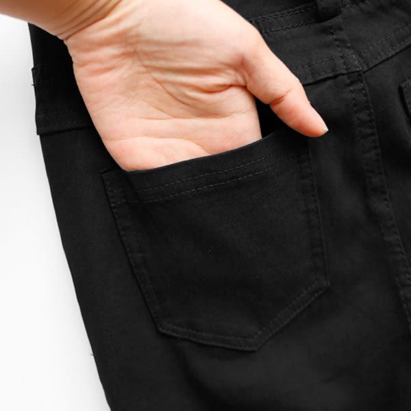 ★夏裝限定★MIUSTAR 細腿必備。寬腰頭彈力窄管褲(共1色,S-L)【NF2136ES】預購