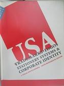 【書寶二手書T2/設計_J67】Trademarks, logos stationery systems & corporate identity USA