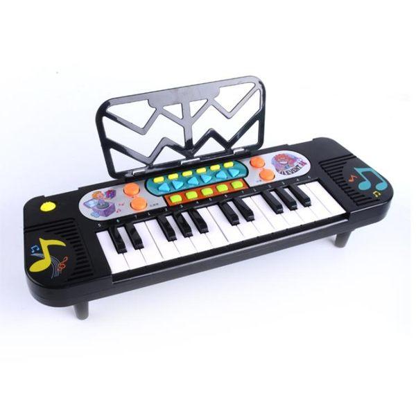 兒童電動電子琴女孩鋼琴早教益智玩具講故事兒歌音樂1-3-6歲寶寶 igo 櫻桃