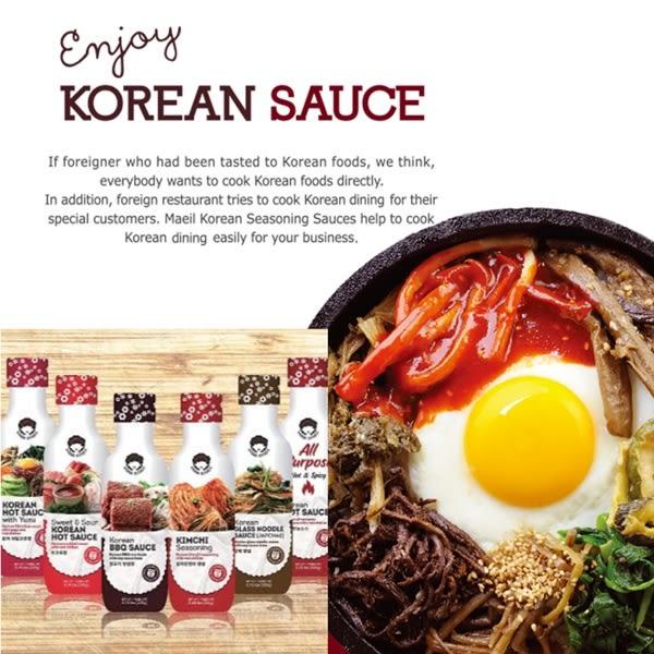 韓國阿珠嬤韓式泡菜醬汁 烤肉醬 調味醬 -310g 獨家配方醬汁  韓式料理必備