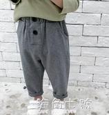 男童秋裝褲子新款韓版休閒長褲寬鬆洋氣運動褲 海角七號