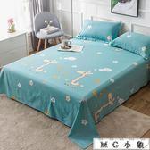 純棉床單單件全棉雙人棉布被單