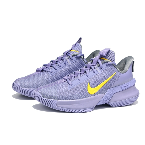 NIKE 籃球鞋 LEBRON AMBASSADOR13 XIII 淡紫黃 男(布魯克林) CQ9329-500