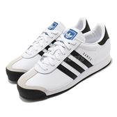 【海外限定】adidas 休閒鞋 Samoa 白 黑 男鞋 女鞋 皮革鞋面 基本款 復古球鞋 【ACS】 675033