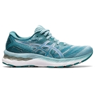 ASICS GEL-NIMBUS 23 女鞋 慢跑 訓練 避震 緩衝 回彈 輕量 藍綠【運動世界】 1012A885-400