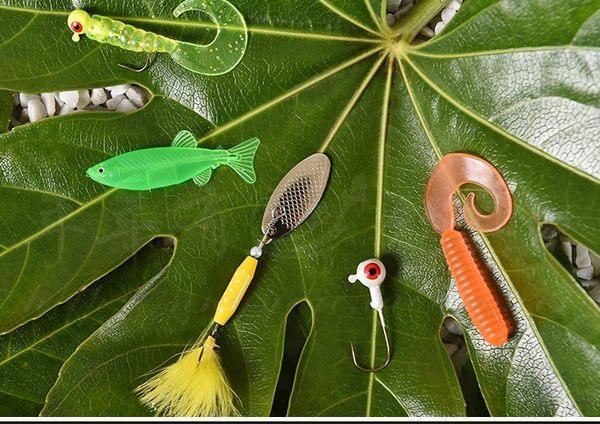 [協貿國際]  珍品餌釣餌海釣淡水假餌套裝