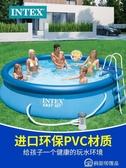 充氣游泳池超大號家用成人兒童泳池加厚加高家庭戲水池 【快速出貨】