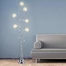 婚慶落地燈客廳簡約現代ins風少女網紅臥室立式燈遙控燈 【母親節禮物】