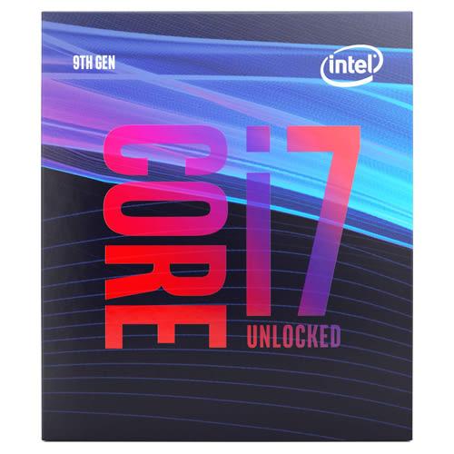 Intel Core i7-9700K 8核心8執行緒 1151 腳位 CPU 中央處理器