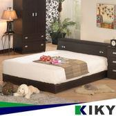 赫卡忒 木色六分板床組 床頭箱+床底 雙人5尺(胡桃色/白橡色)