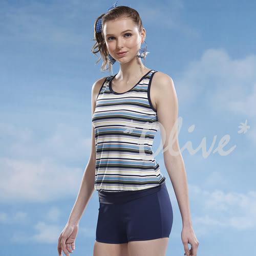 ☆小薇的店☆泳之美品牌【清新條紋款】時尚二件式泳裝特價590元 NO.8328(M-XL)