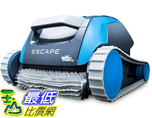 [8美國直購] 游泳池清潔機器人 Dolphin Escape Robotic Above Ground Pool Cleaner B01I466H94