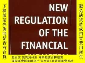 二手書博民逛書店New罕見Regulation Of The Financial Industry-金融業新規Y436638